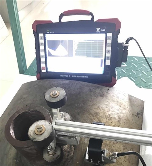 Detection of T.K.Y pipe nodes weld by phase array