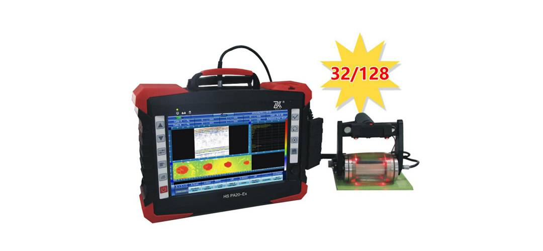 HS PA20-Ex Ultrasonic Flaw Detector