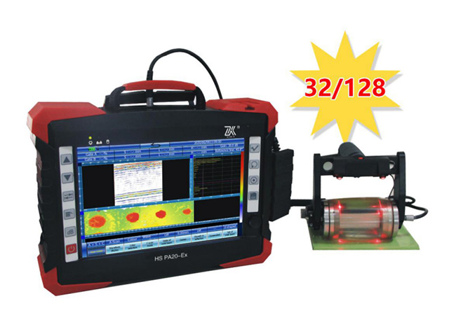 HS PA20-Ex Multi-function Phased Array Ultrasonic Flaw Detector