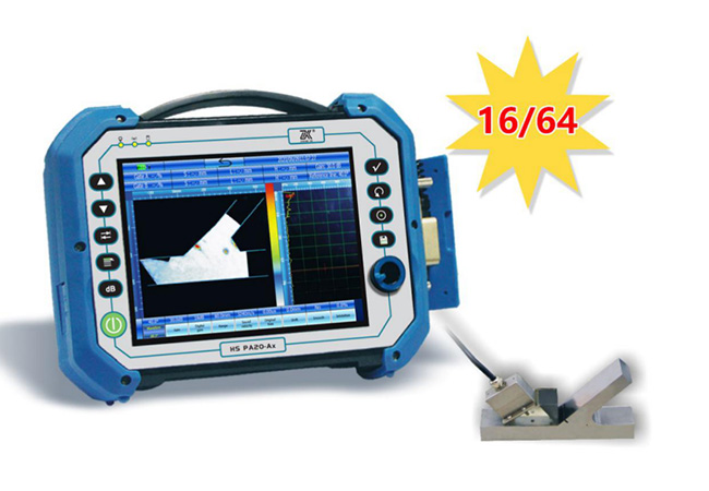 Multi-function Phased Array Ultrasonic Flaw Detector HS PA20-Aex