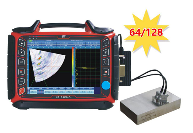 HS PA20-Fx Multi-function Phased Array Ultrasonic Flaw Detector