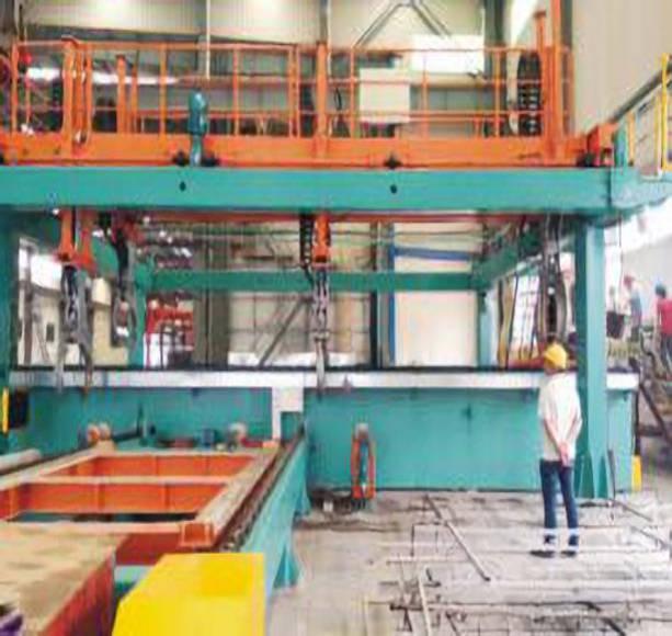 Ultrasonic automatic testing equipment for non-ferrous metal series