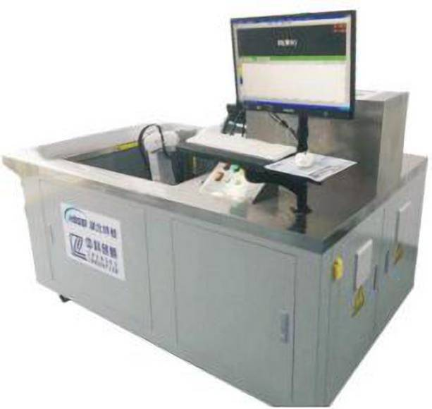 Small type C-scan automatic detection equipment